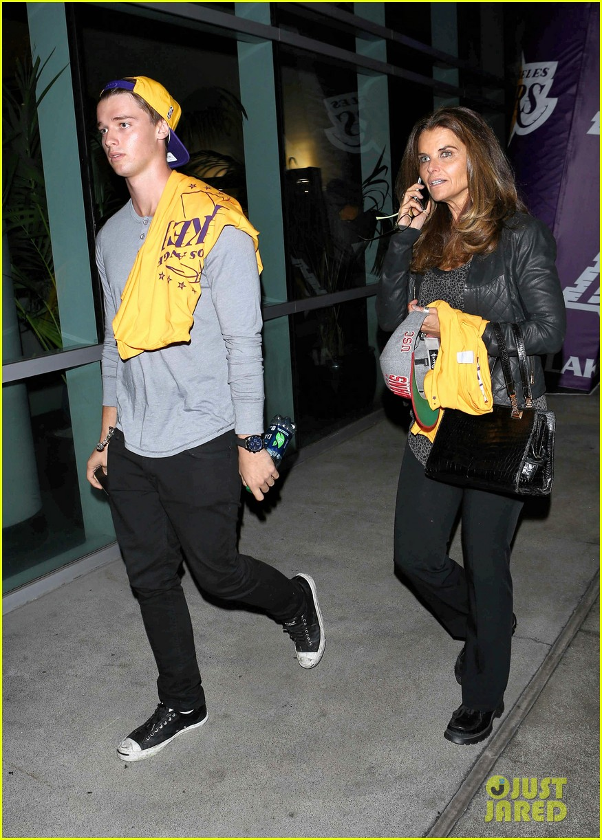 patrick schwarzenegger lakers opening night is one of my favorite nights 122748872