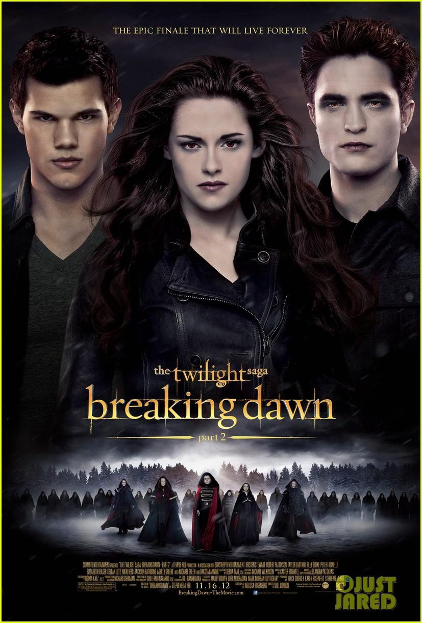 robert pattinson kristen stewart new twilight breaking dawn part 2 poster.2743557