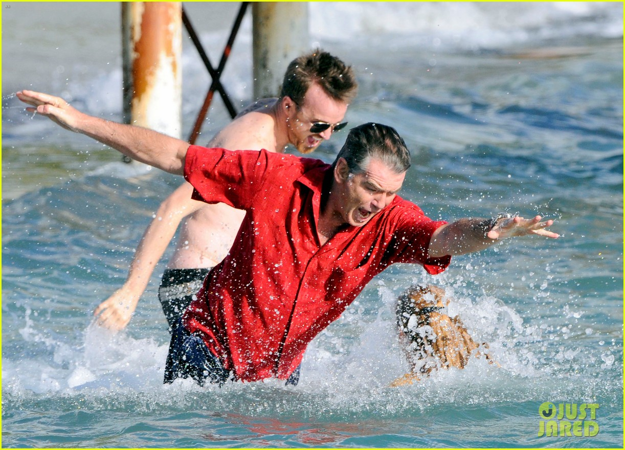 aaron paul shirtless swim for a long way down 032743614