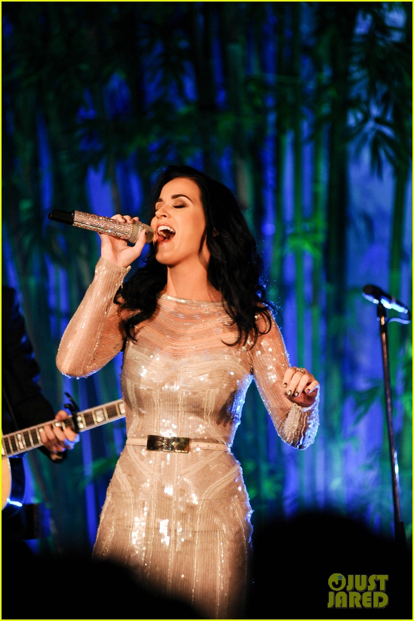 katy perry obama concert hammer gala performer 032734924
