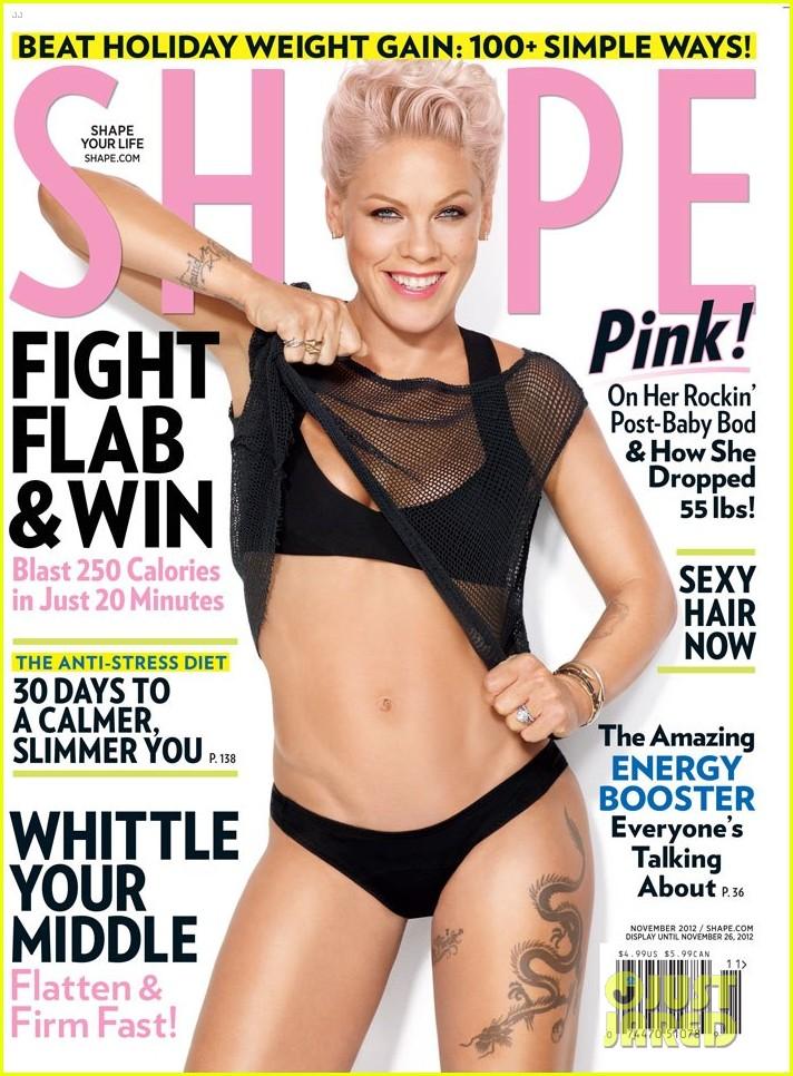 pink bares bikini body for shape magazine2740846