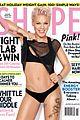 pink bares bikini body for shape magazine
