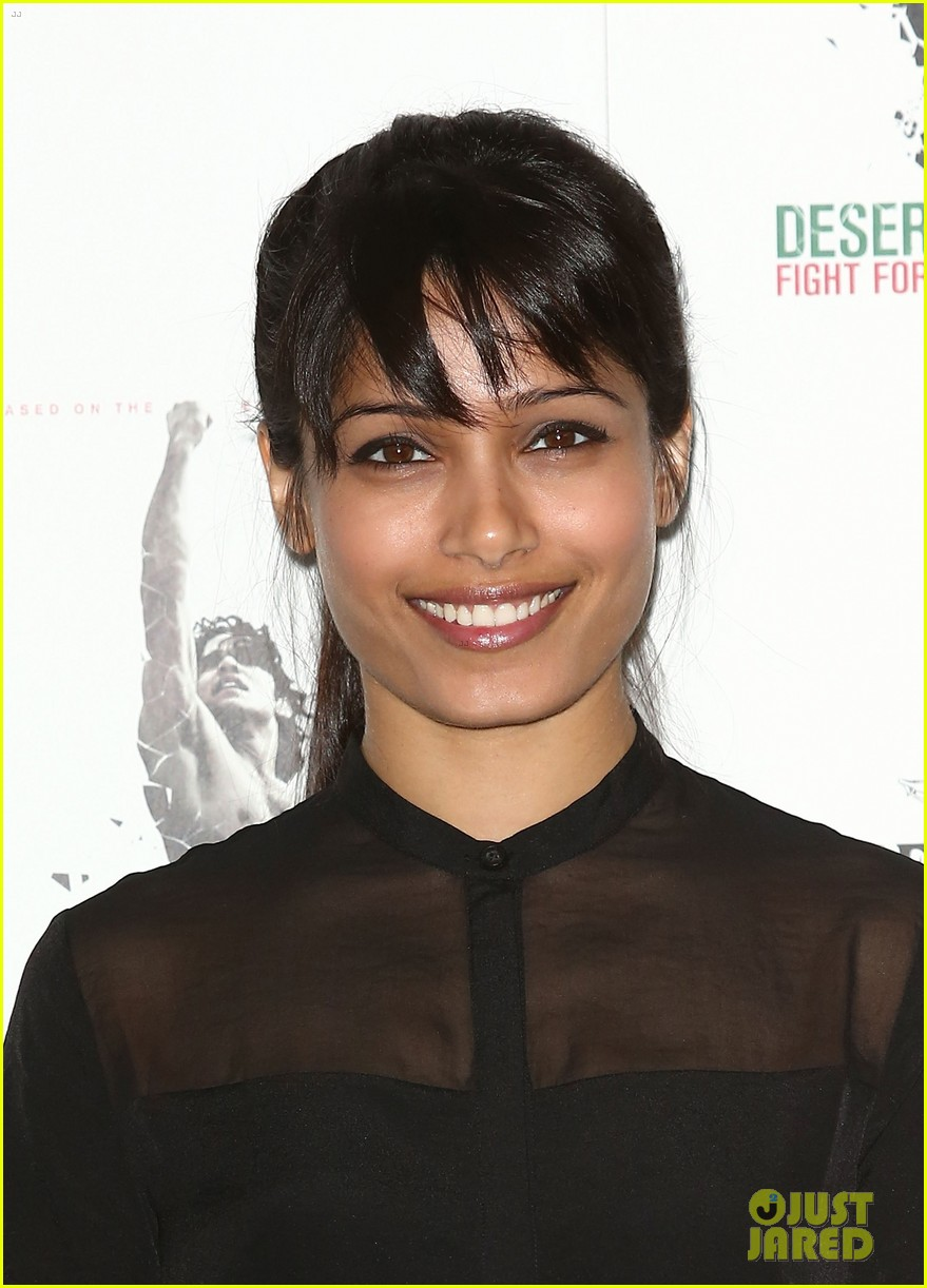 freida pinto desert dancer london photo call 082735258