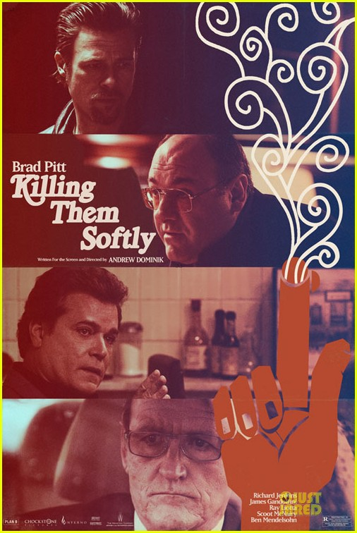 brad pitt new killing them softly posters 01