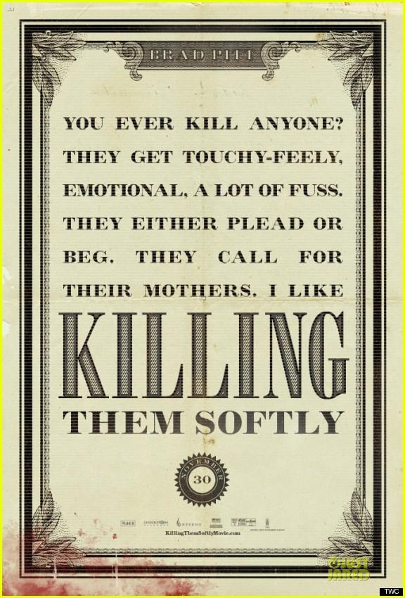 brad pitt new killing them softly posters 062733148
