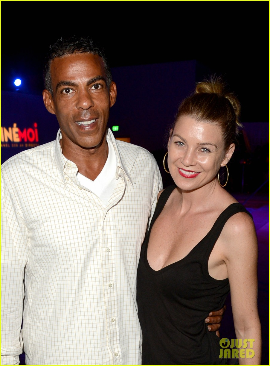 ellen pompeo cinemoi launch party with chris ivery 02
