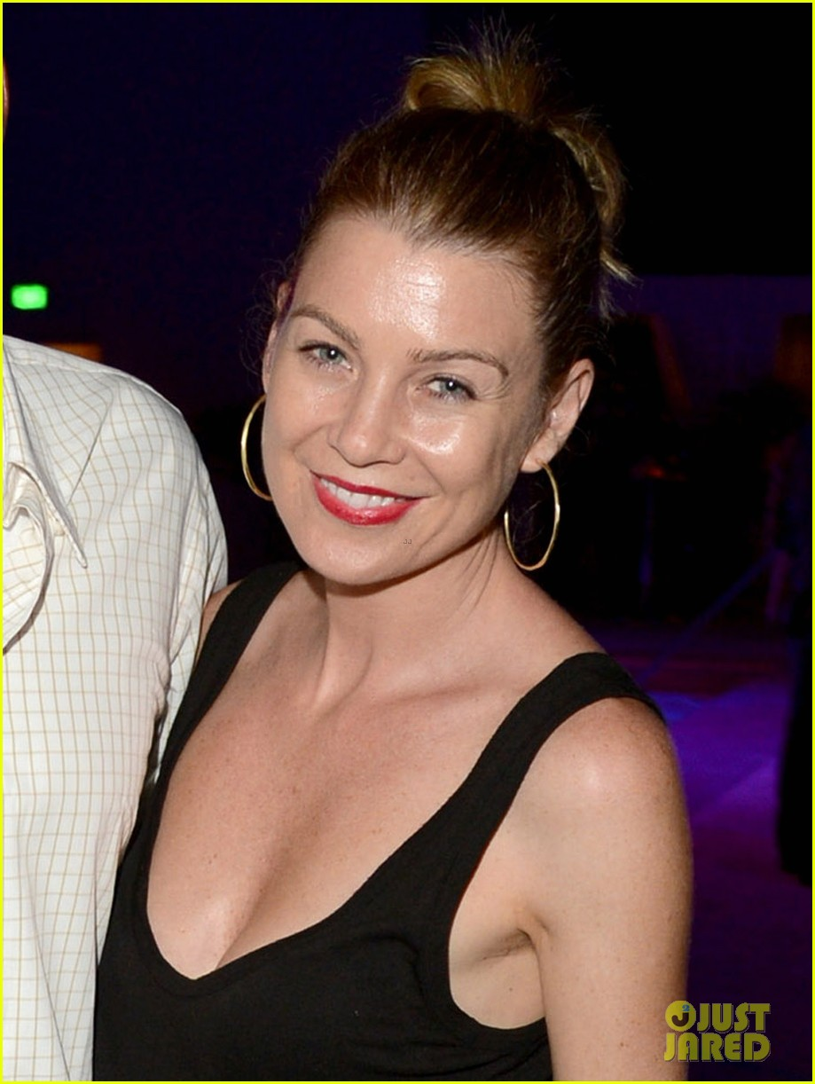 ellen pompeo cinemoi launch party with chris ivery 032732325