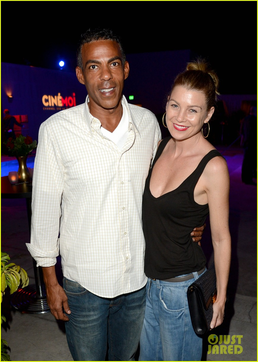 ellen pompeo cinemoi launch party with chris ivery 042732326