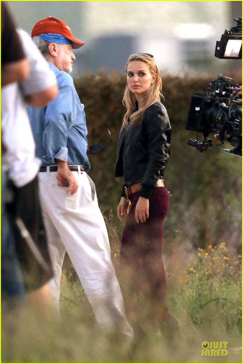 natalie portman sheer untitled malick project filming 162742179