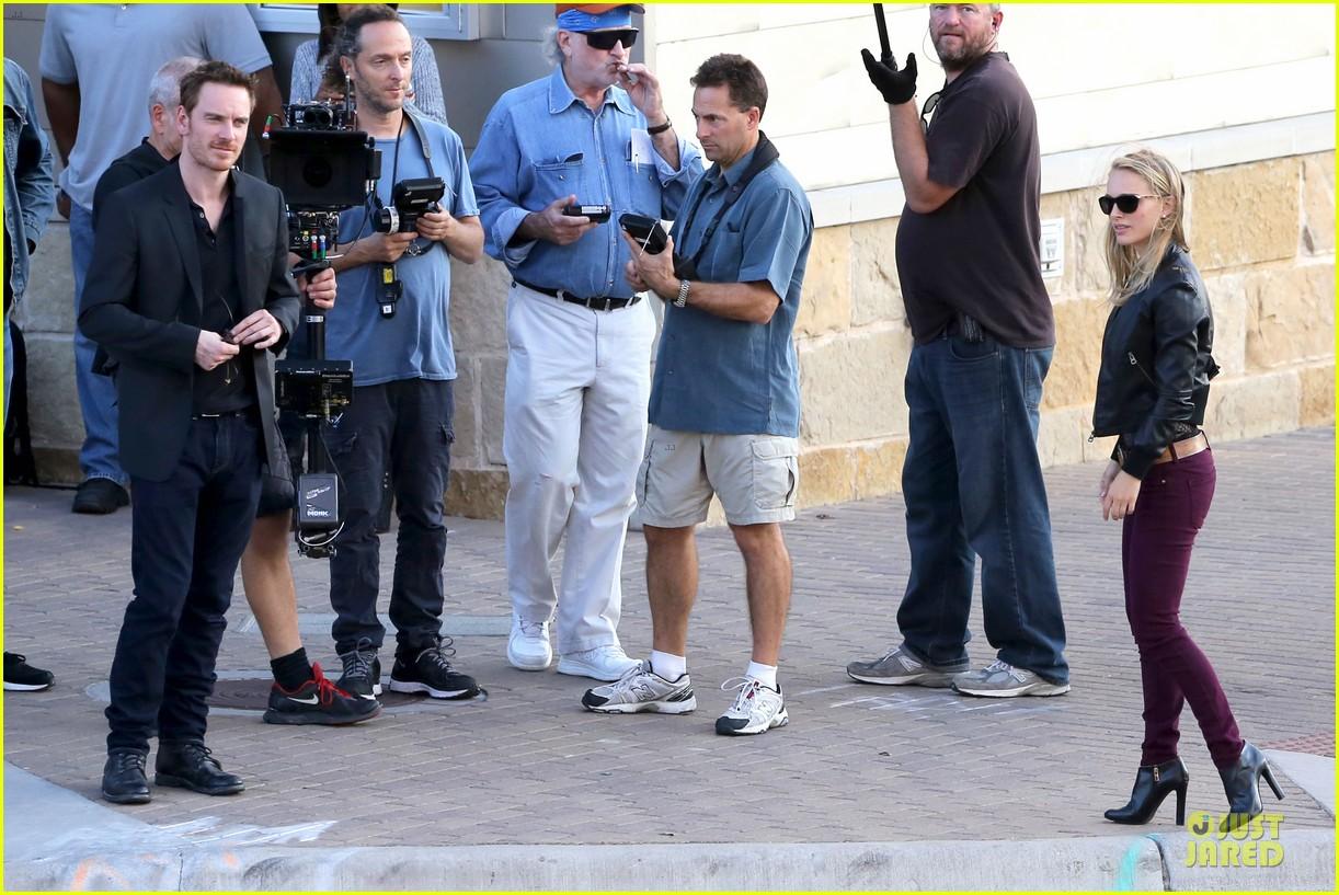 natalie portman sheer untitled malick project filming 212742184