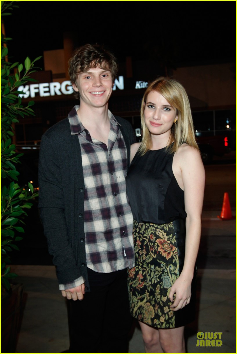 Emma Roberts Evan Peters Rag Bone Flagship Opening Photo 2746043 Emma Roberts Evan Peters Pictures Just Jared