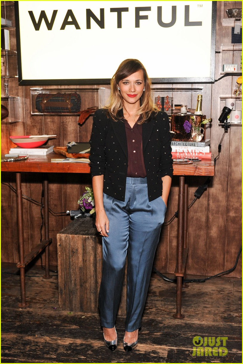 rashida jones wantful dinner 112748491