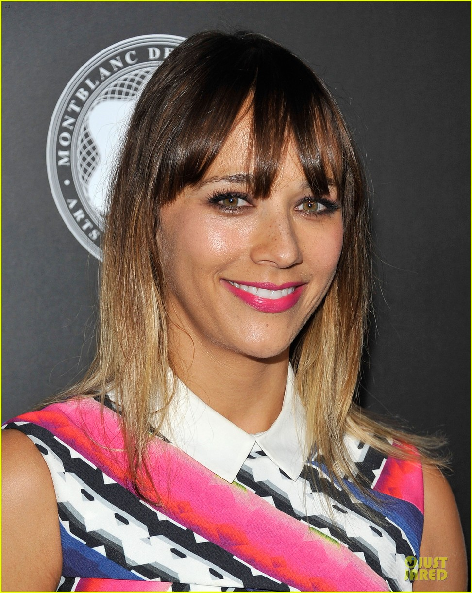 rashida jones jesse williams montblac awards 062732106