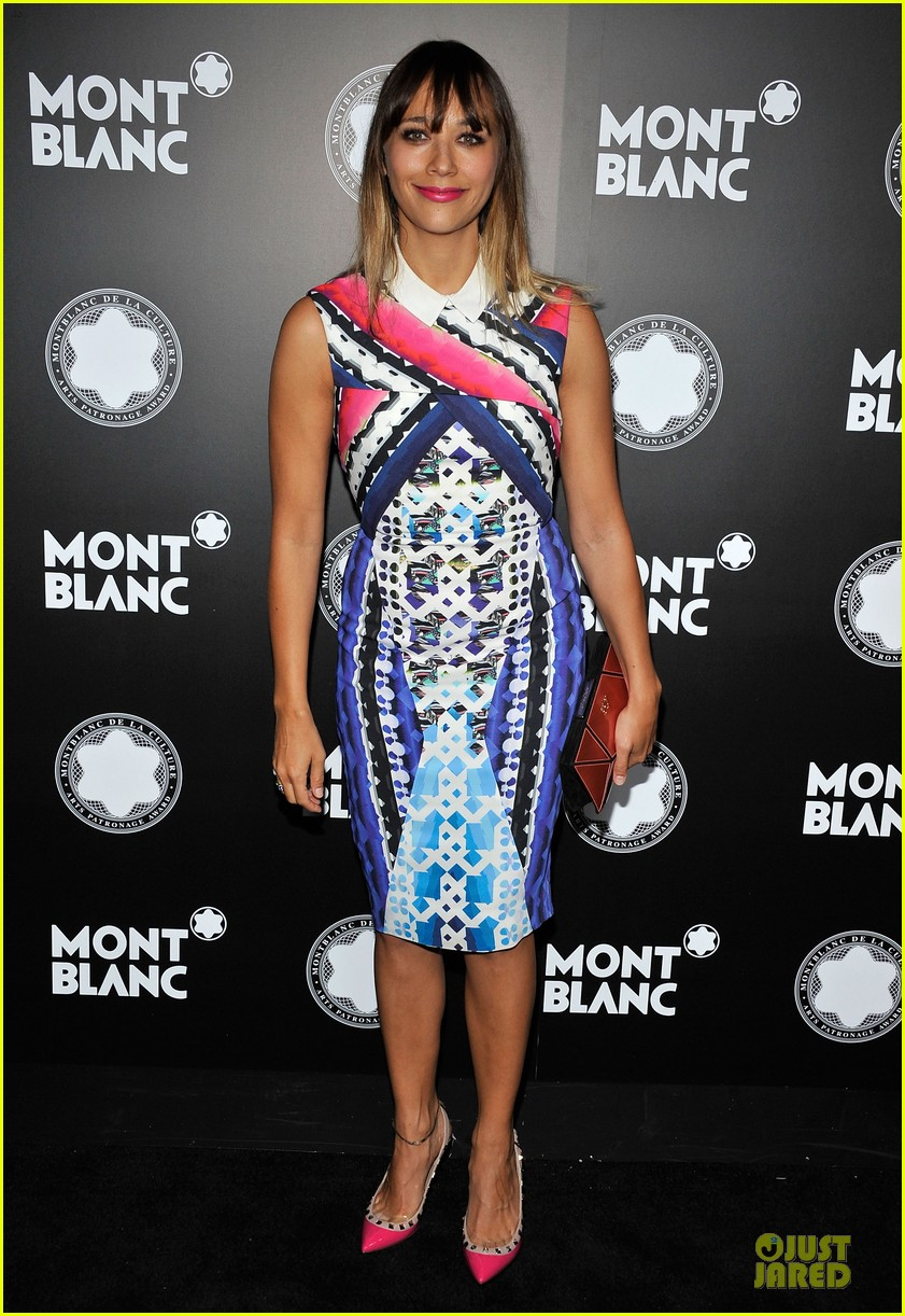 rashida jones jesse williams montblac awards 14