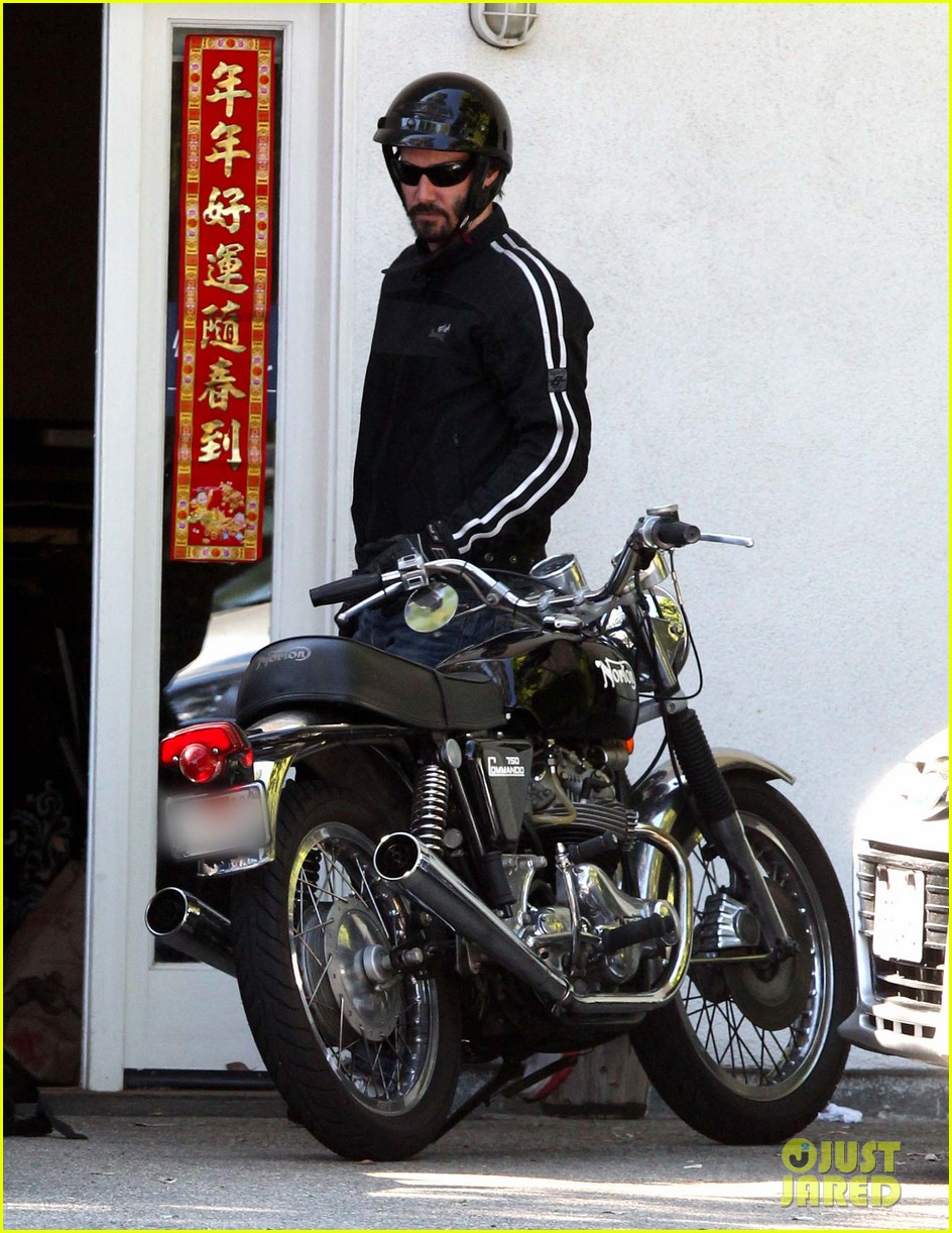 keanu reeves biker dude 012748425