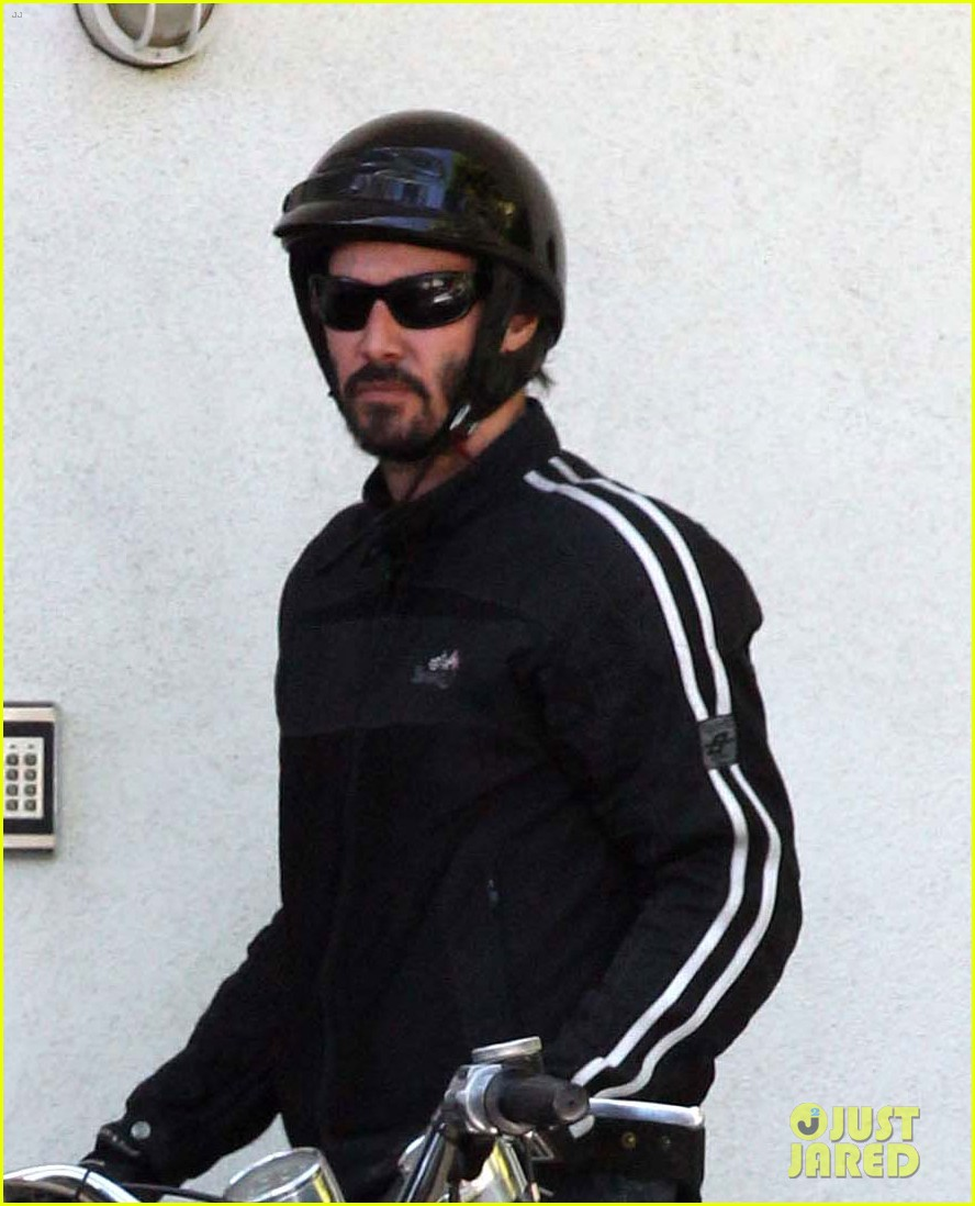 keanu reeves biker dude 032748427