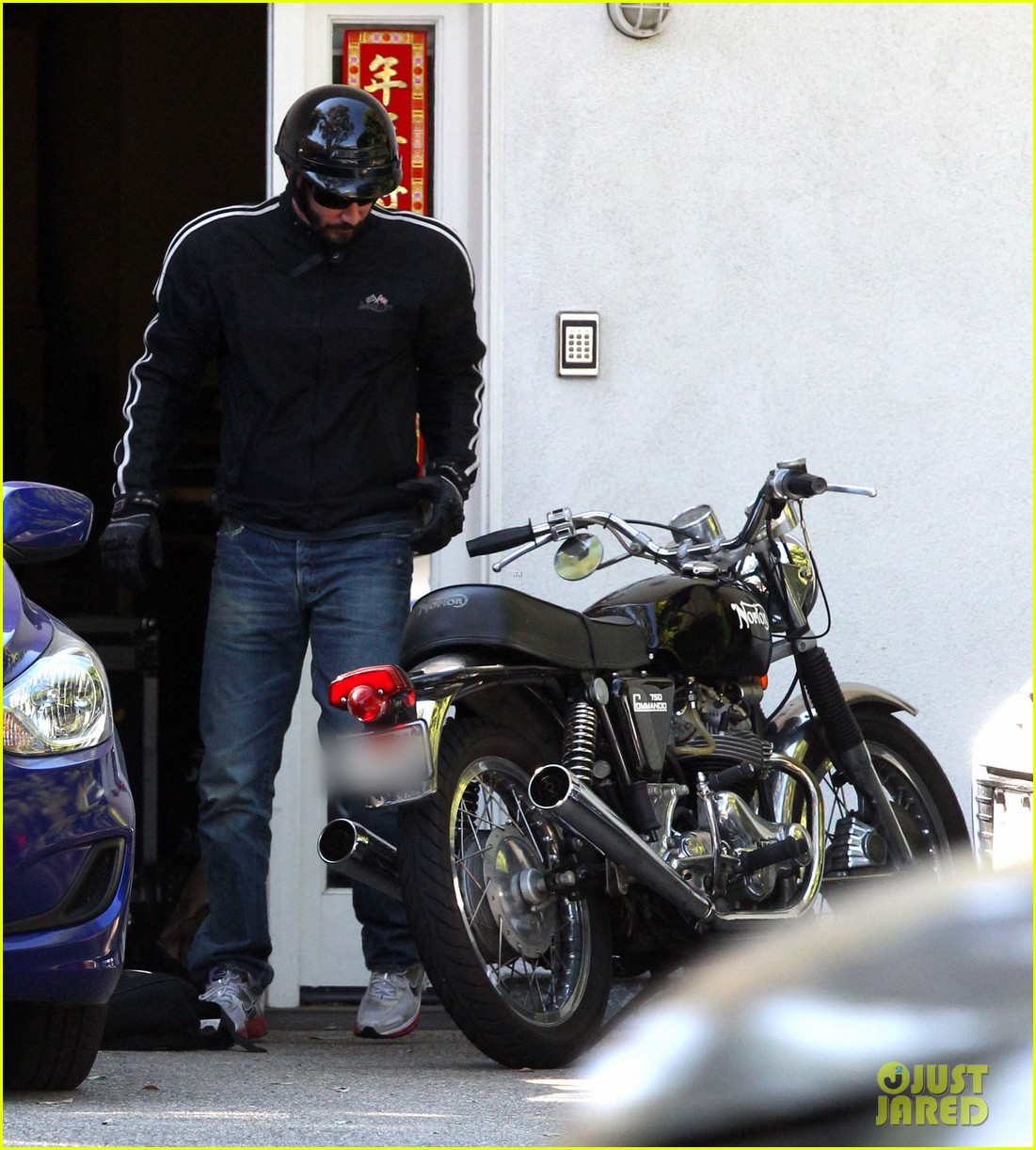 keanu reeves biker dude 102748434