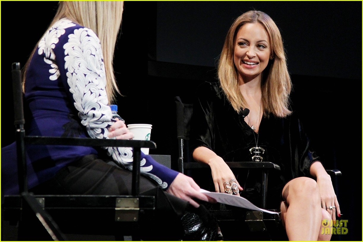 nicole richie teen vogue university event 02