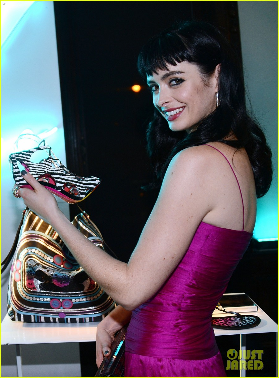 krysten ritter jimmy choo collection launch 022745700