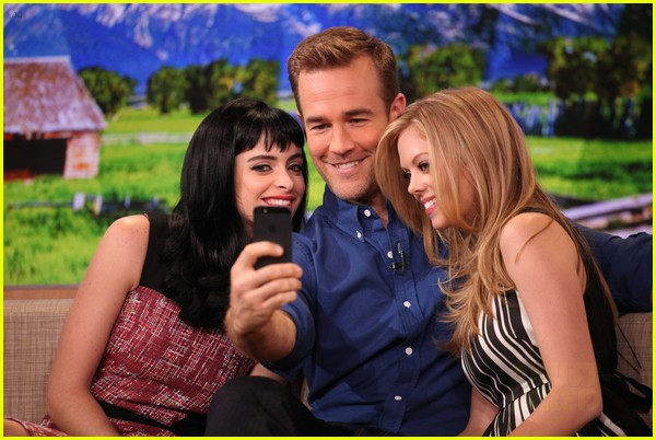 krysten ritter gma with apartment 23 co stars 022744319