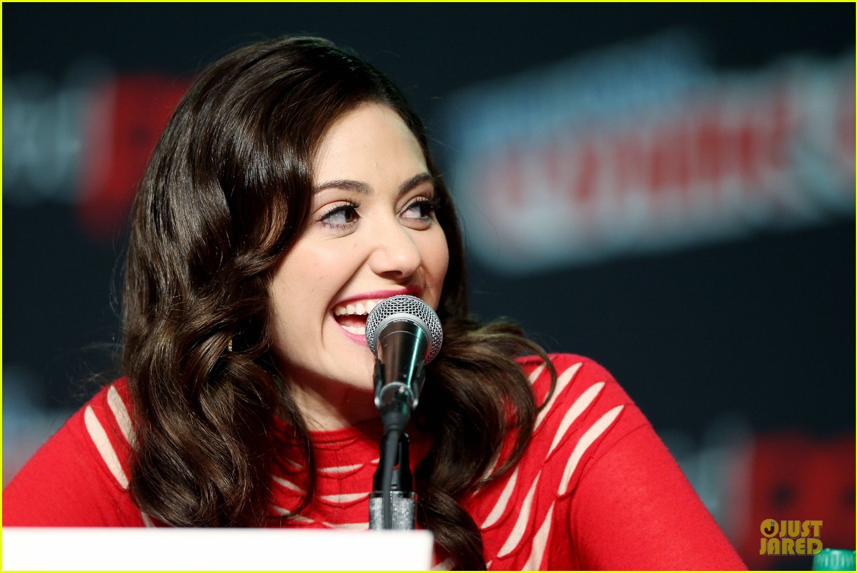 emmy rossum beautiful creatures comic con panel 192737749