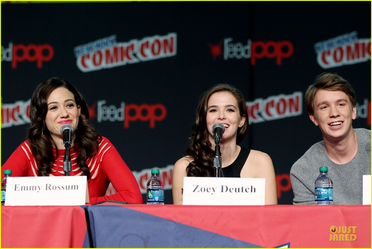 emmy rossum beautiful creatures comic con panel 342737764
