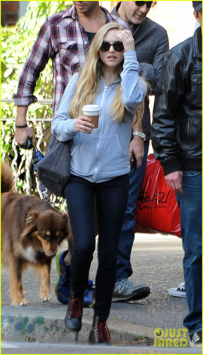 amanda seyfried desmond harrington big apple coffee break 022741988