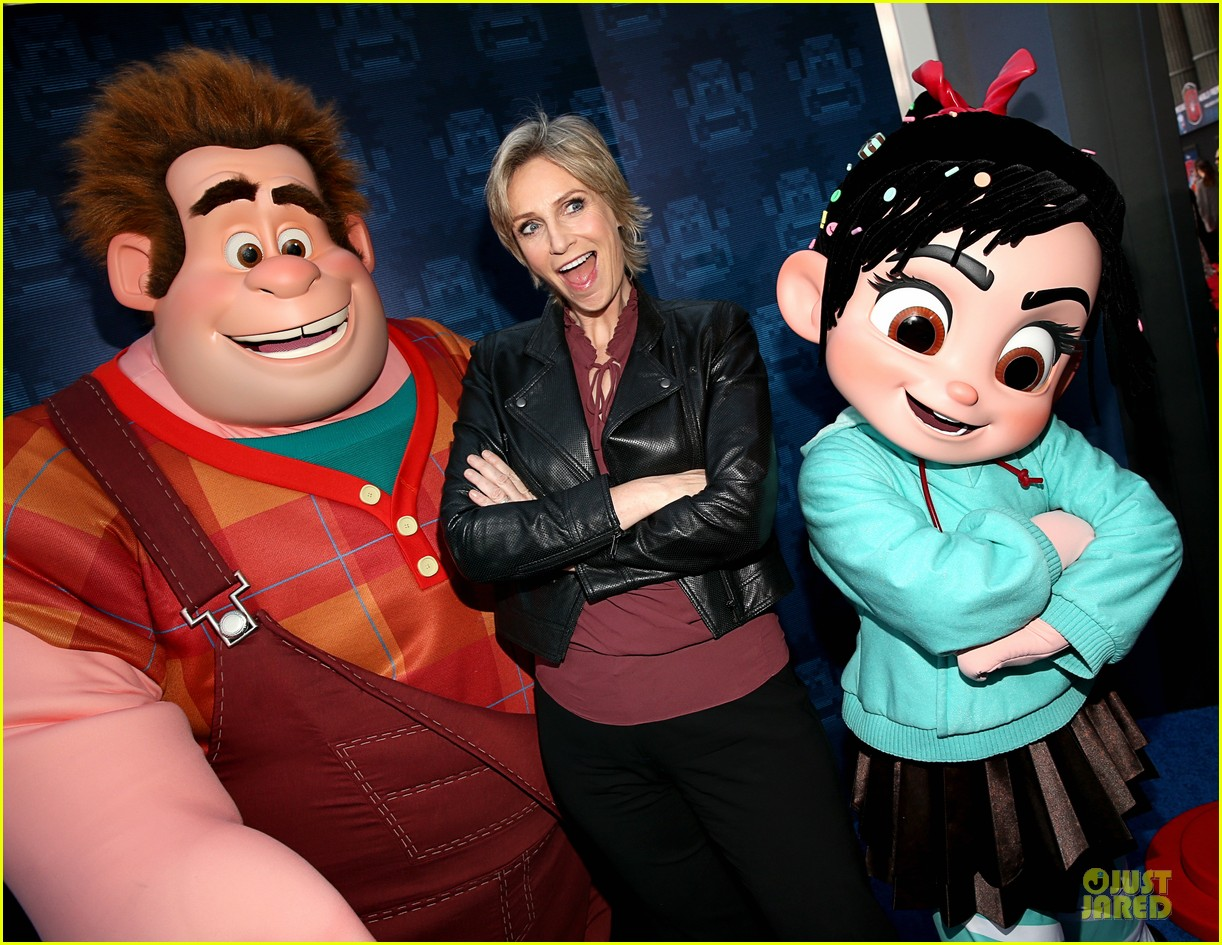 sarah silverman john c reilly wreck it ralph premiere 042748226