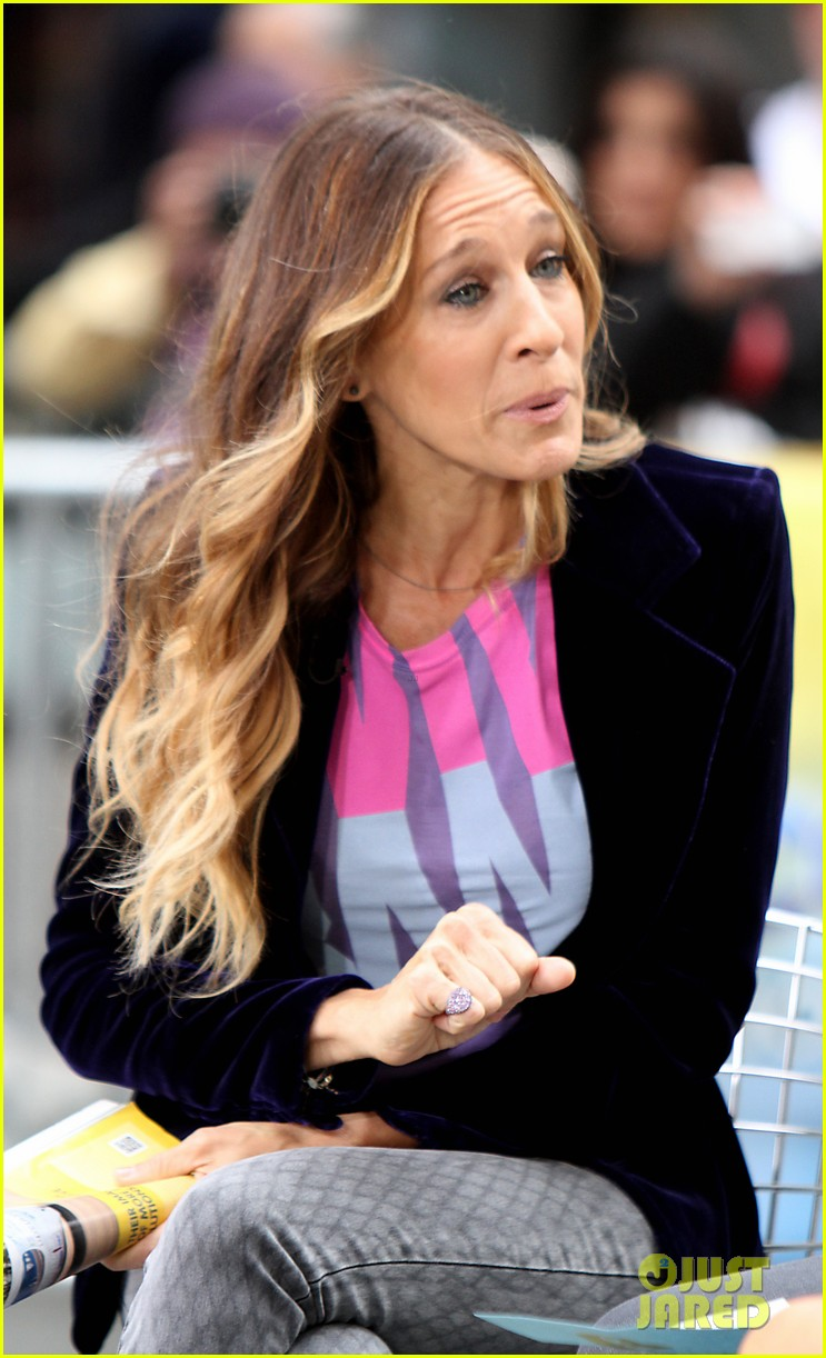 sarah jessica parker supports president obama on access hollywood 022744957
