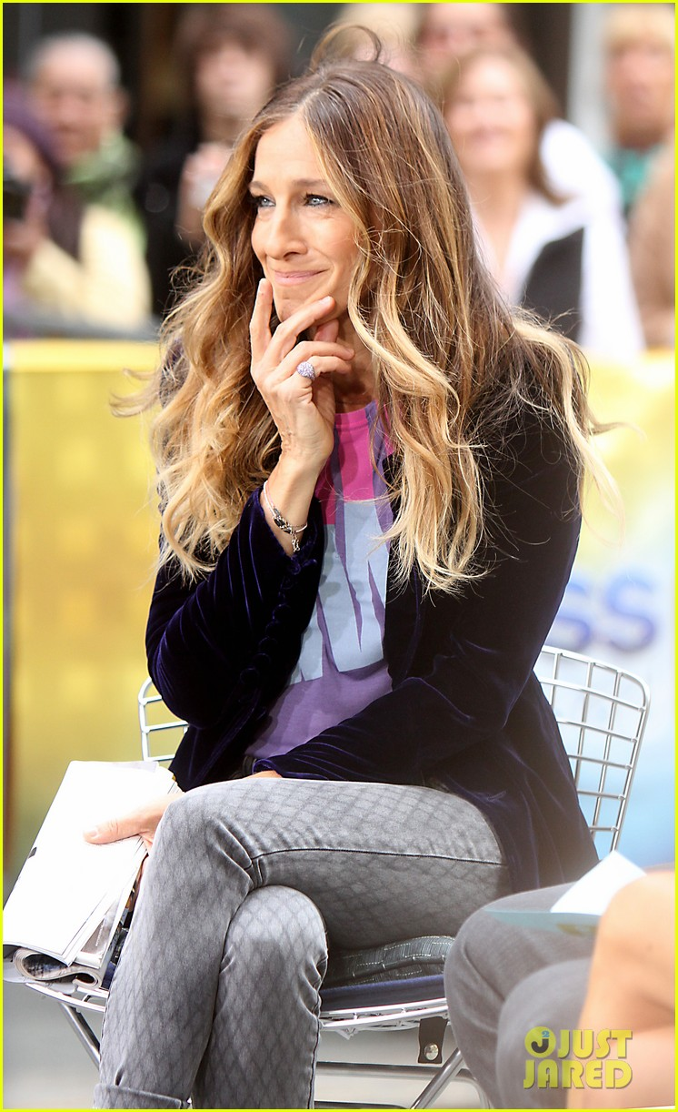 sarah jessica parker supports president obama on access hollywood 052744960
