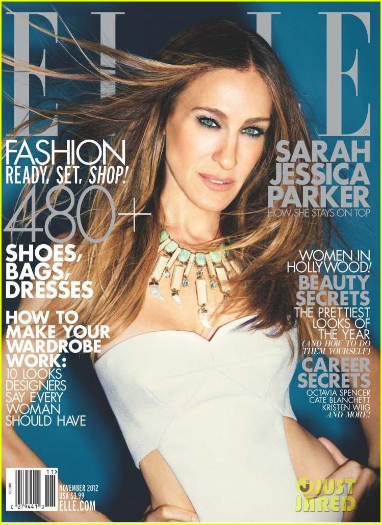 sarah jessica parker covers elle november 2012 012732305