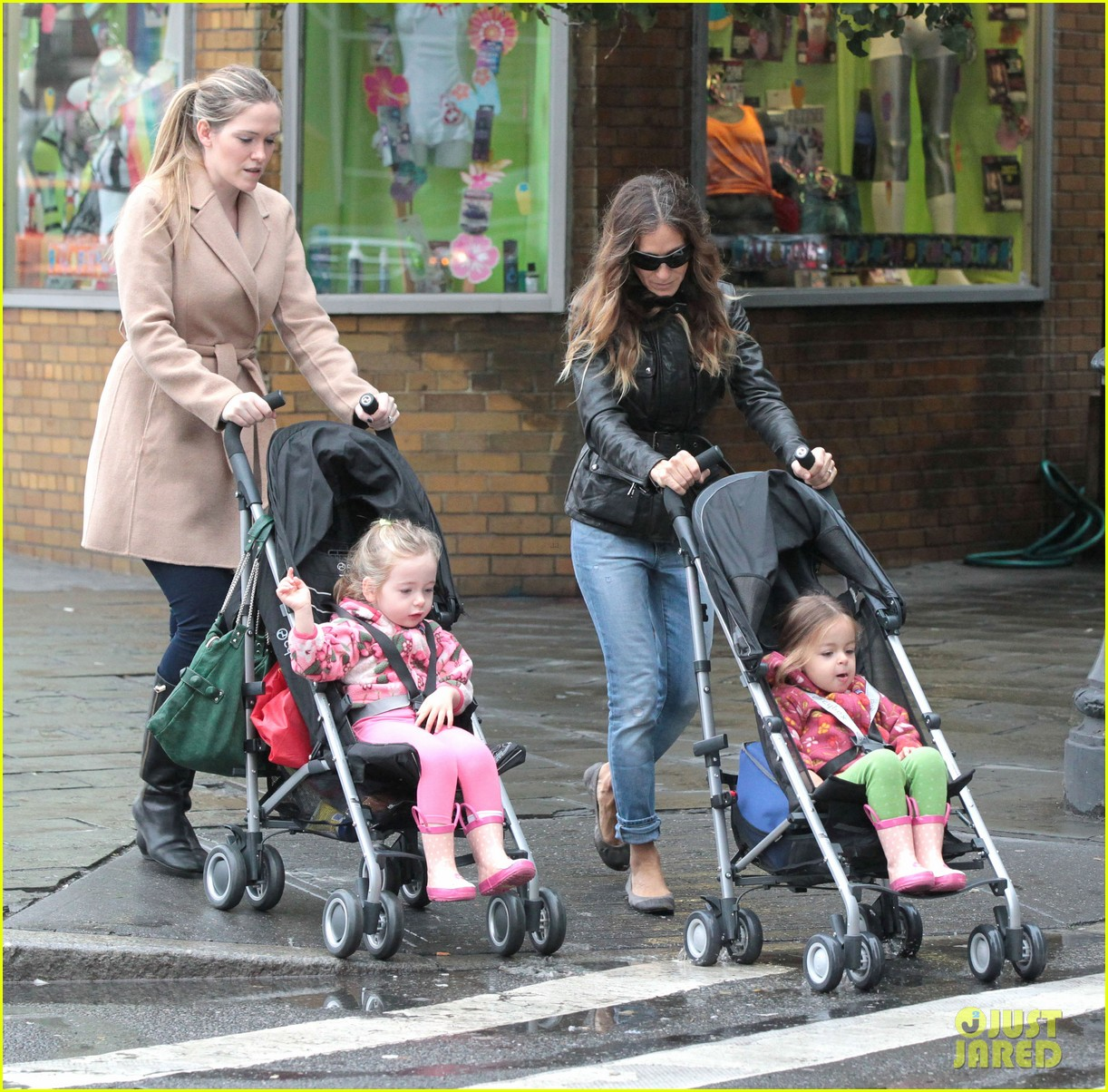 sarah jessica parker big apple morning with kids 042736492