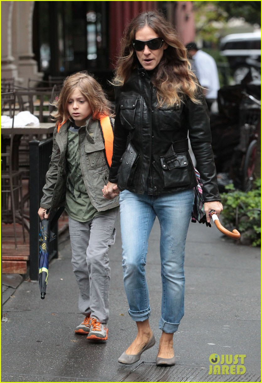sarah jessica parker big apple morning with kids 072736495