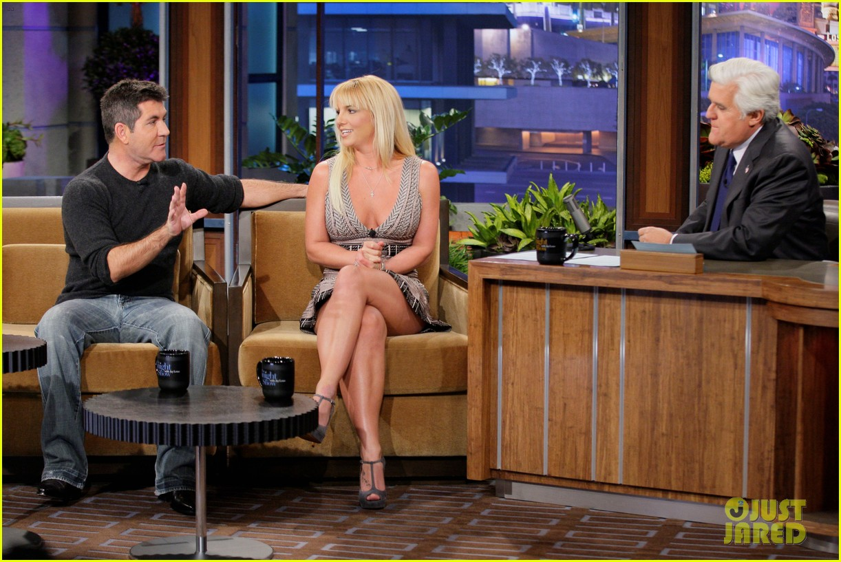 britney spears tonight show with simon cowell 042748325