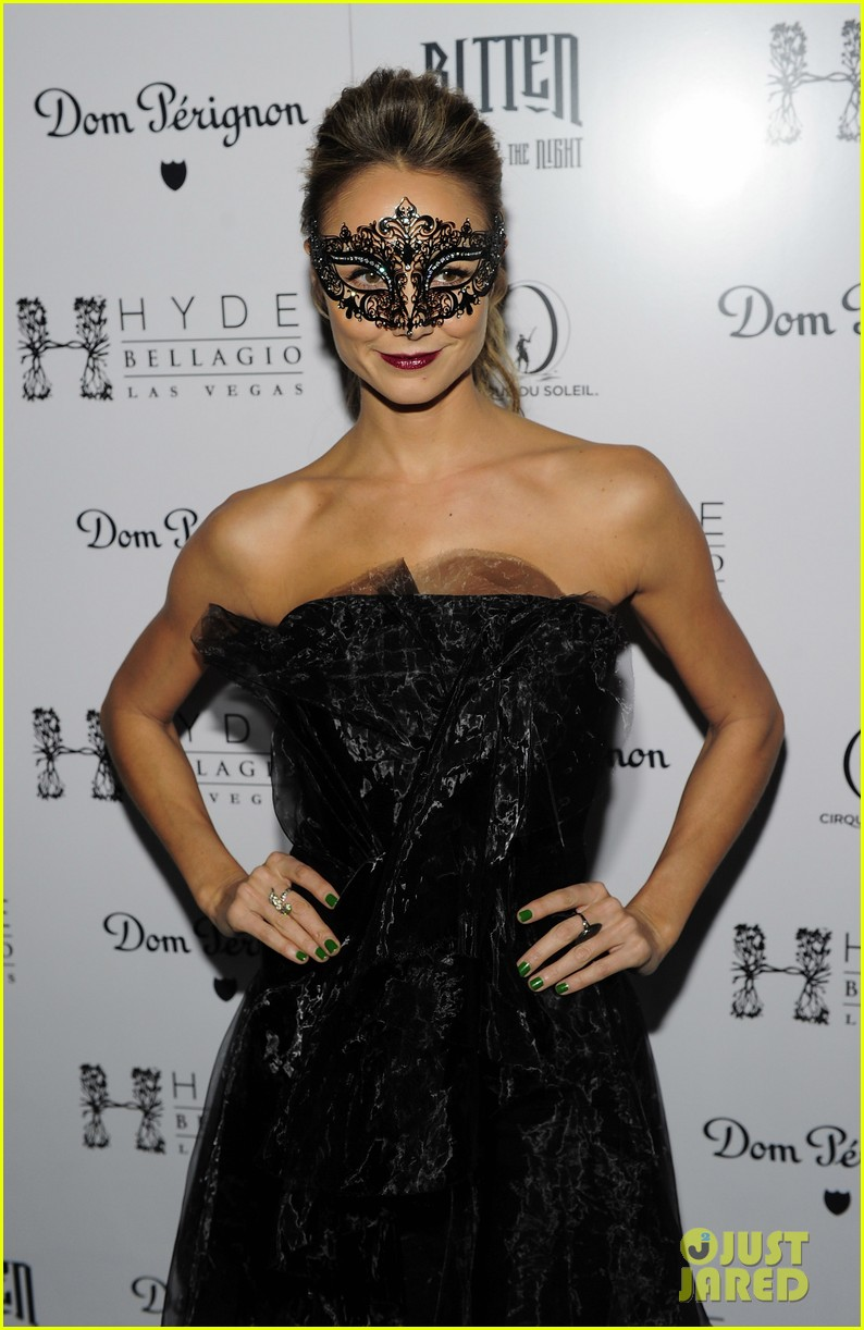 stacy keibler halloween masquerade host 032746774