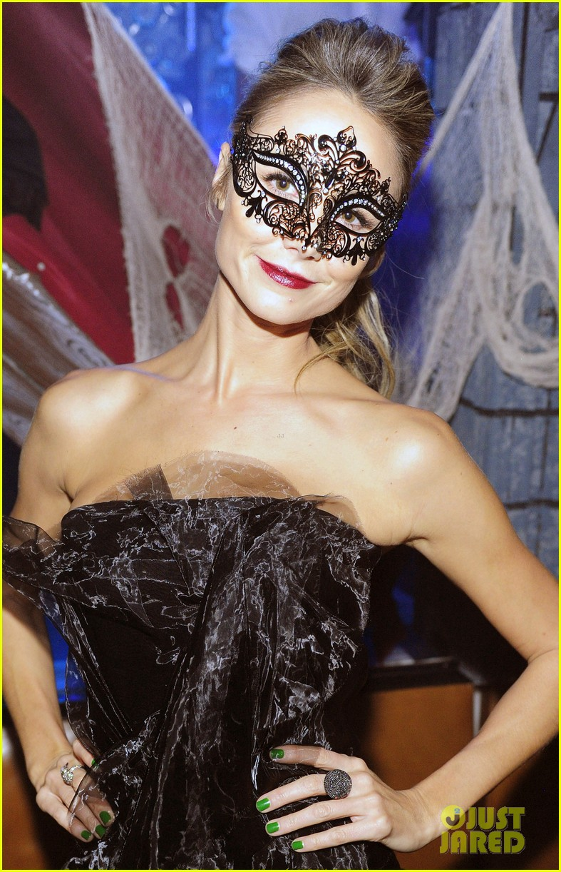 stacy keibler halloween masquerade host 102746781