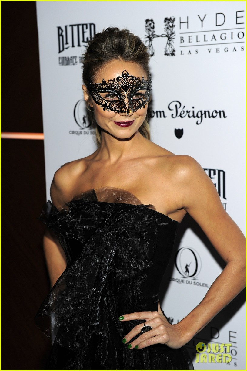 stacy keibler halloween masquerade host 152746786