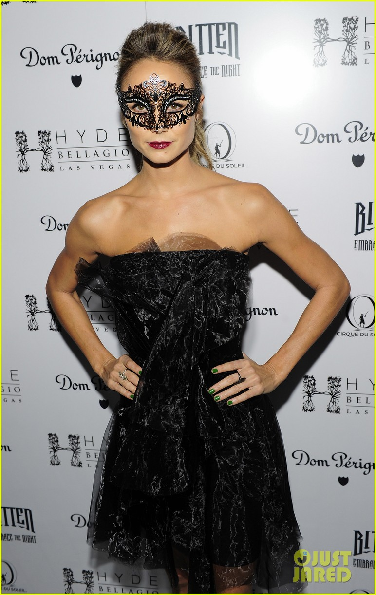 stacy keibler halloween masquerade host 162746787