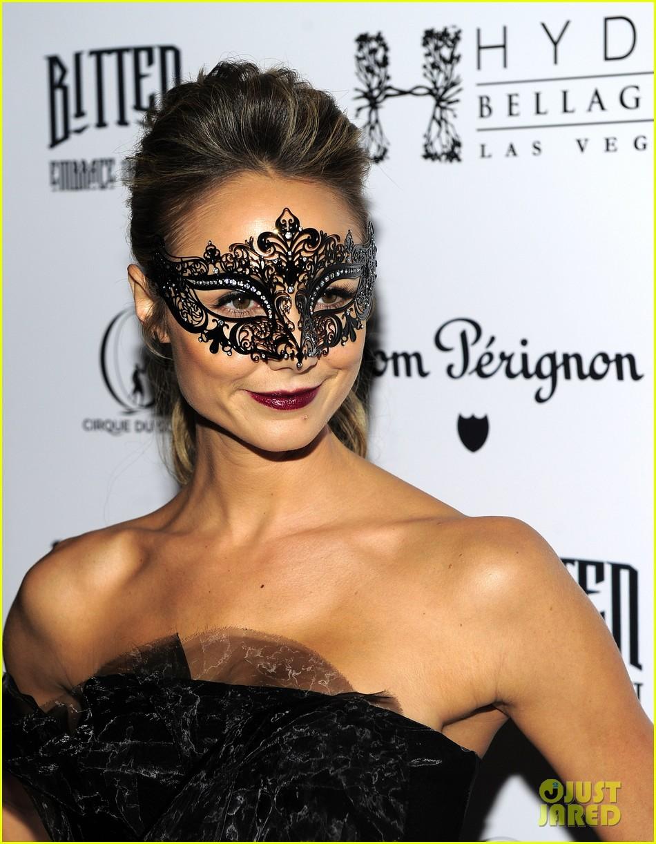 stacy keibler halloween masquerade host 172746788