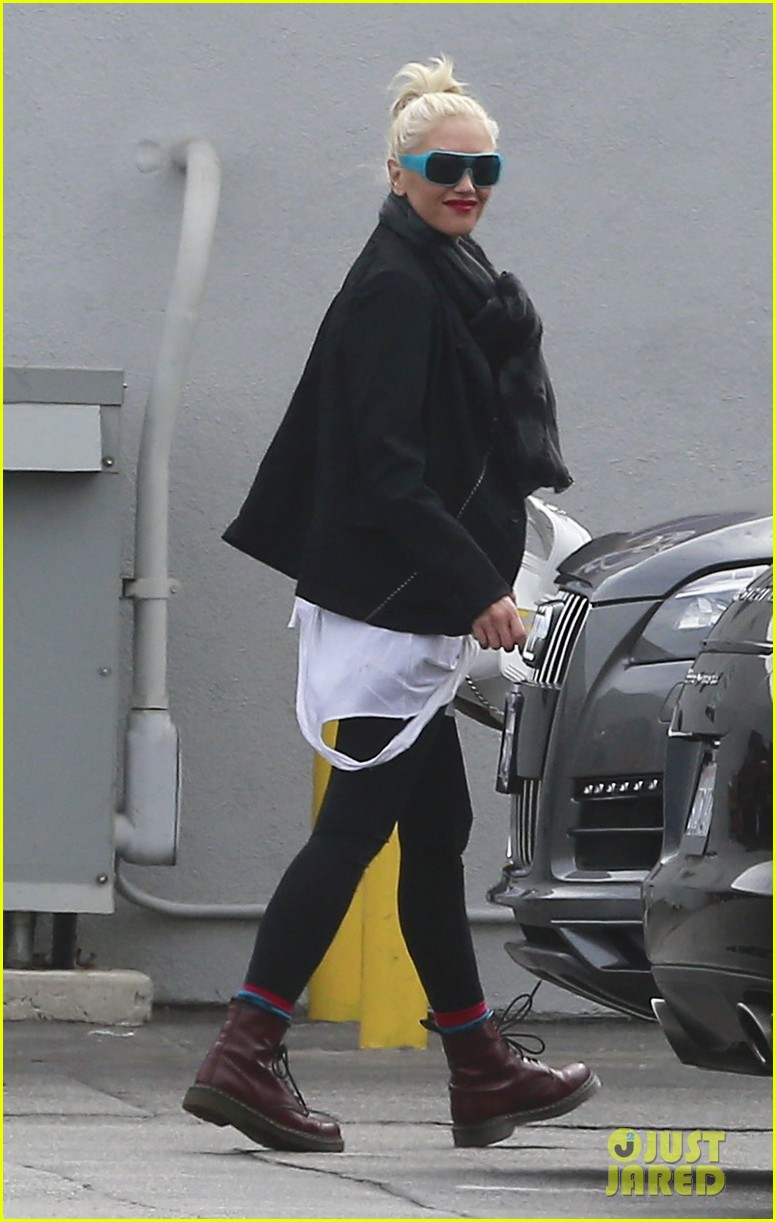 gwen stefani gavin rossdale coffee run studio city 032736539