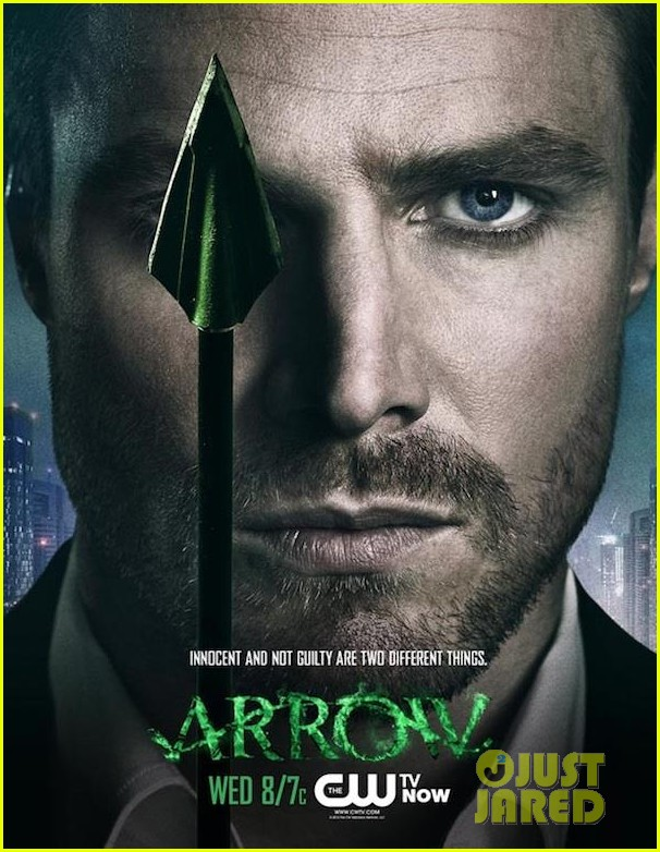 stephen amell new arrow poster 032745045
