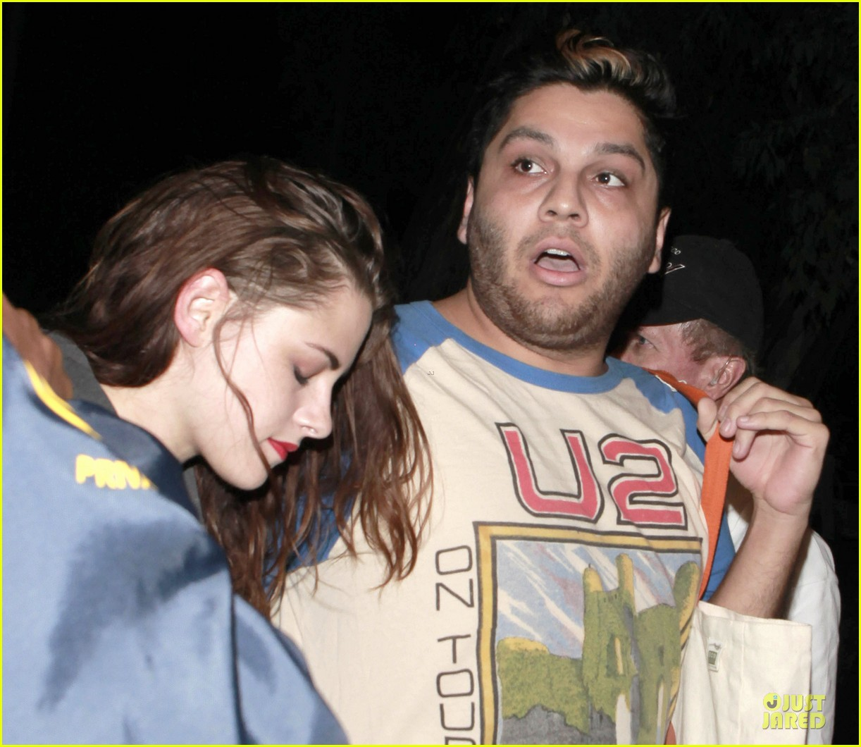 kristen stewart florence and the machine concert with father 042734787