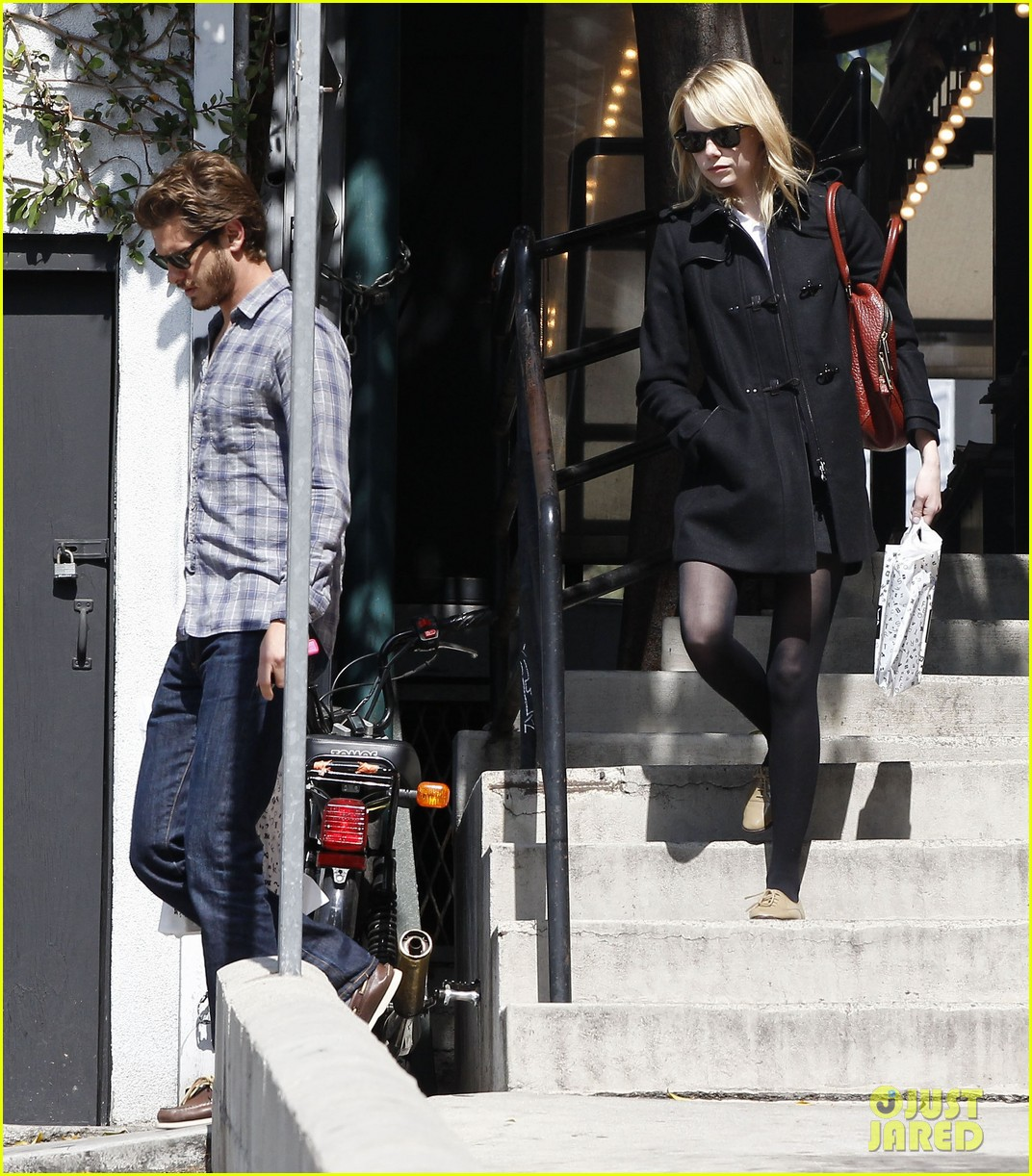 emma stone andrew garfield book soup 15