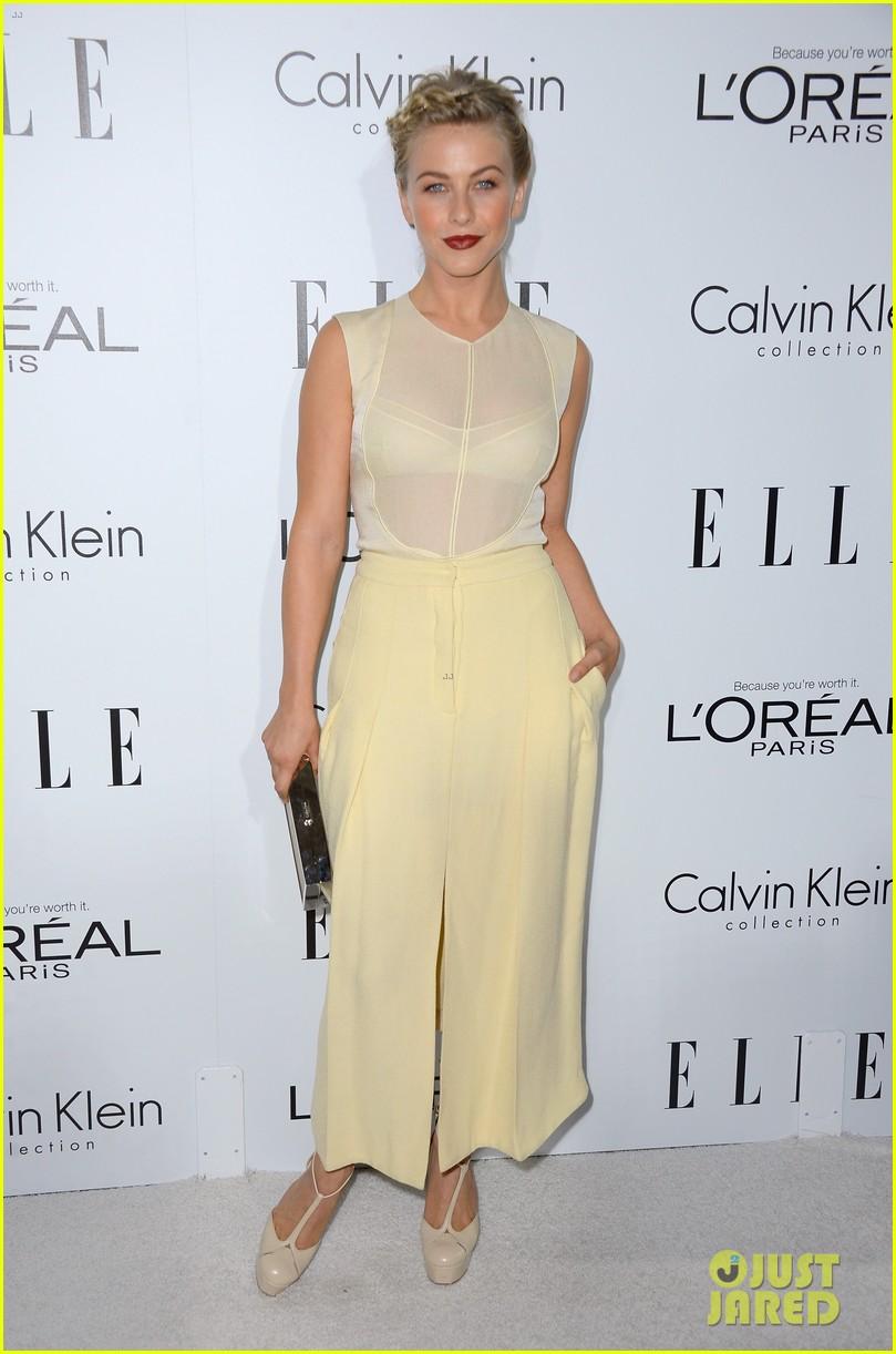 emma stone lea michele elle women in hollywood 2012 022738971