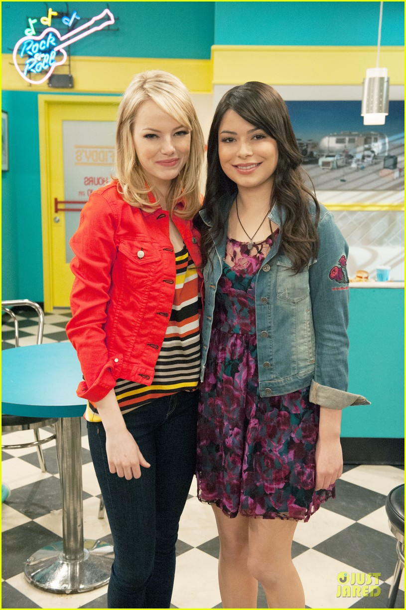 emma stone icarly sneak preview watch now 032739090