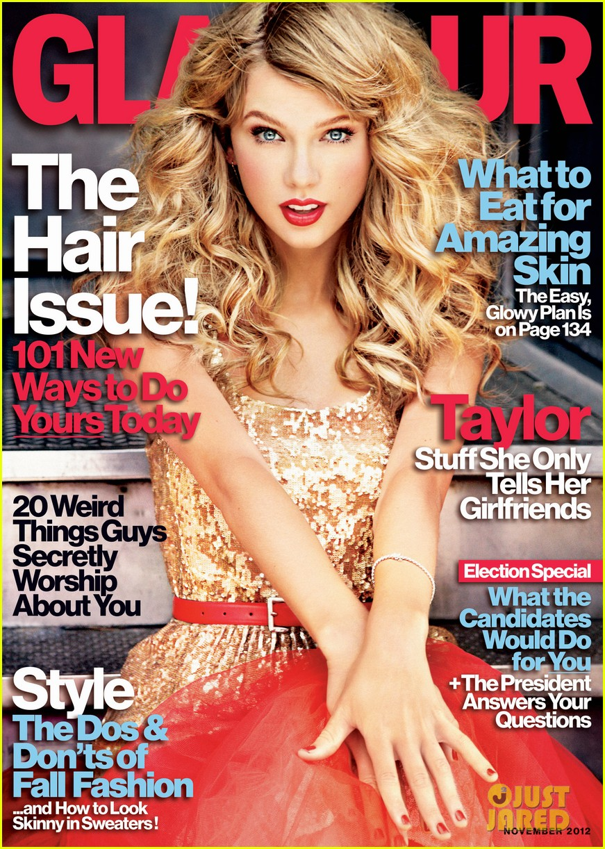 taylor swift covers glamour november 2012 042731229