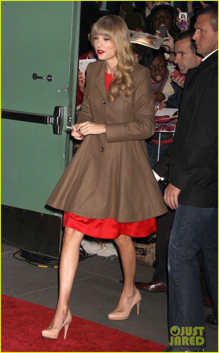 taylor swift red release on good morning america 032742587