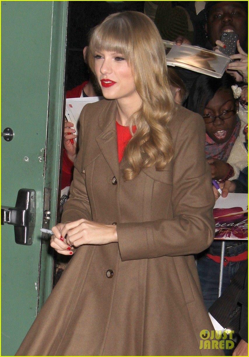 taylor swift red release on good morning america 09