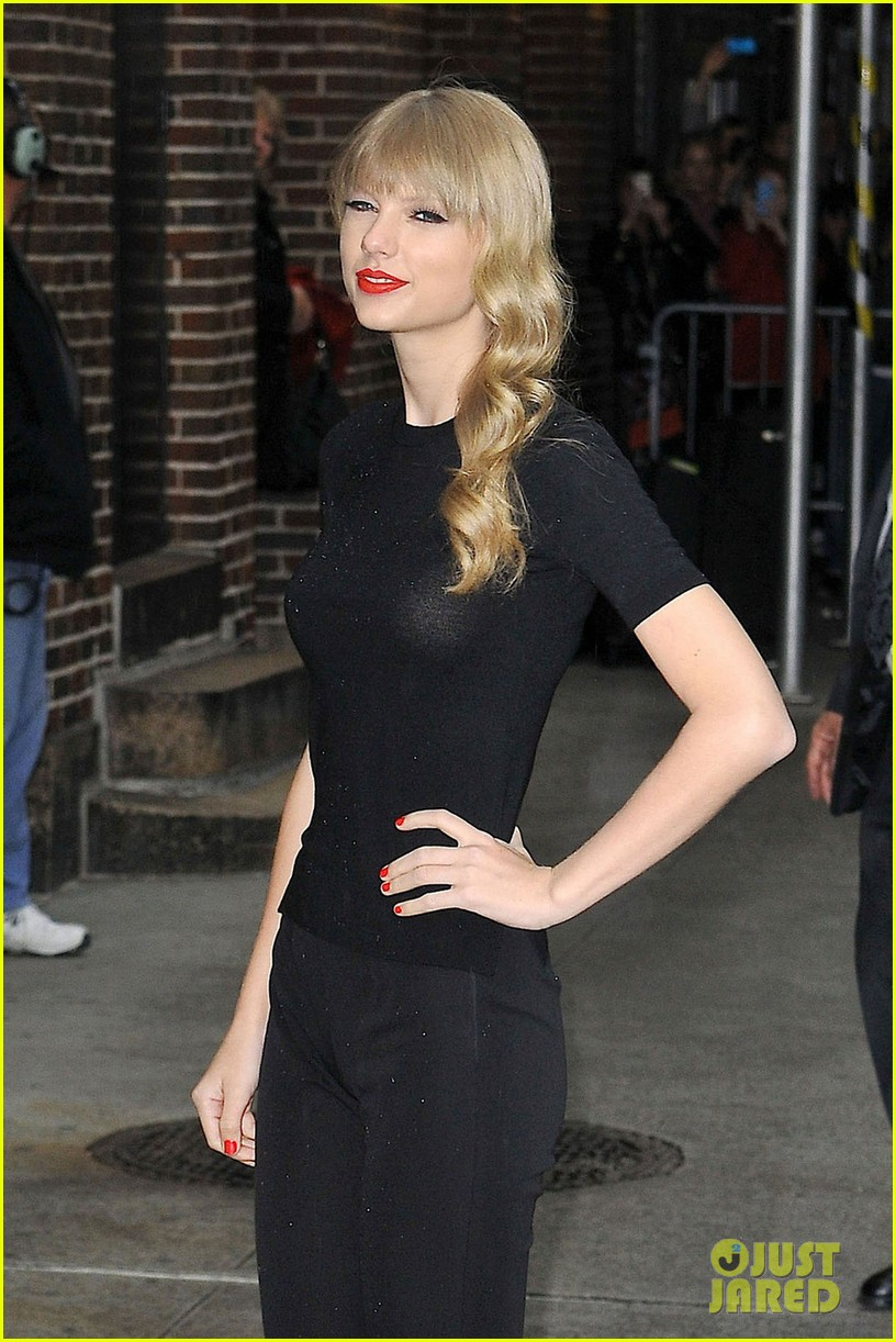 taylor swift late show with david letterman guest 02