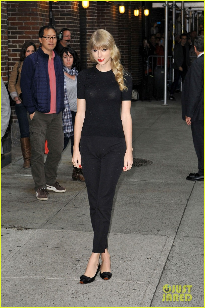 taylor swift late show with david letterman guest 032743594